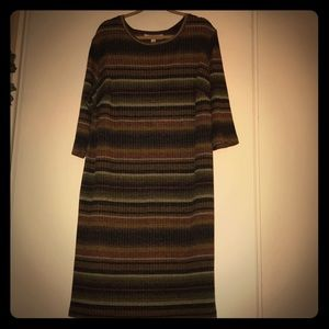 Emma & Michelle sweater dress size 3x